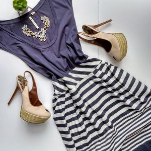 67c645c8a5243 Little Yellow Button Striped Hello, Good Day Dress. $39 $0. Size: M ·  Anthropologie